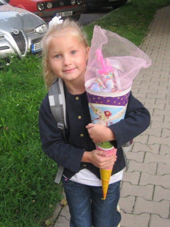 20. KAČENKA VOLÁKOVÁ, 6 let, Štětí.