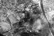 Bombardování Ústí nad Labem.