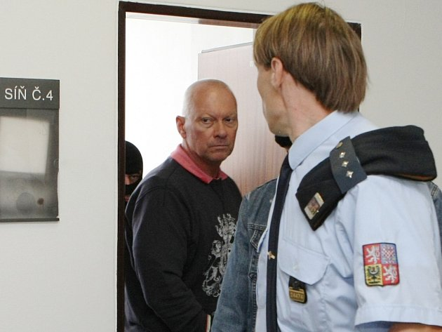Pavel Kouda u soudu. Ilustrační foto.
