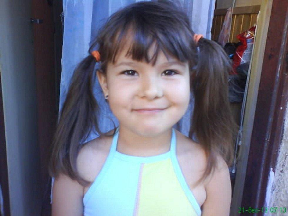 35. MAGDALENKA SUCHÁ, 6 let, Louny.