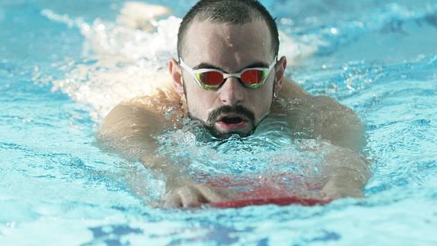 Plavec Ústecké akademie Petr Bartůněk.