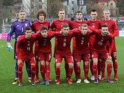 Kvalifikační utkání fotbalové reprezentace do 21 let na ME.