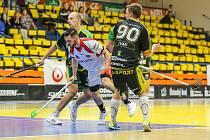 Florbal Ústí - Petrovice, I. liga muži 2019/2020. Josef Novák