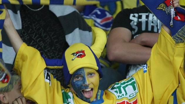 Fanoušci ústeckých hokejistů mají důvod k radosti. Lvi vyhráli i pátý zápas v letošní sezoně.