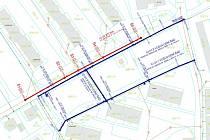 Plán rekonstrukce v Hornické ulici v Ústí nad Labem