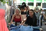 Sekáč u ústeckého Hraničáře měl poslední červencový pátek úspěch. Přišlo kolem padesáti lidí.
