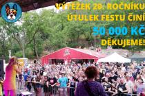 Útulek Fest znovu dobyl hrad. Výtěžek se vyšplhal na 50 tisíc korun.