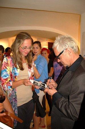 Výběr ze své Platinové kolekce představil Robert Vano přesně před rokem rovněž vGalerii G4 vzápadočeském Chebu.