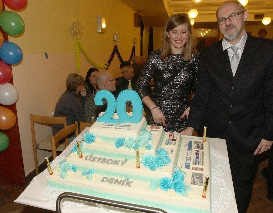 Ples všech Ústečanů a dvacáté narozeniny Ústeckého deníku.