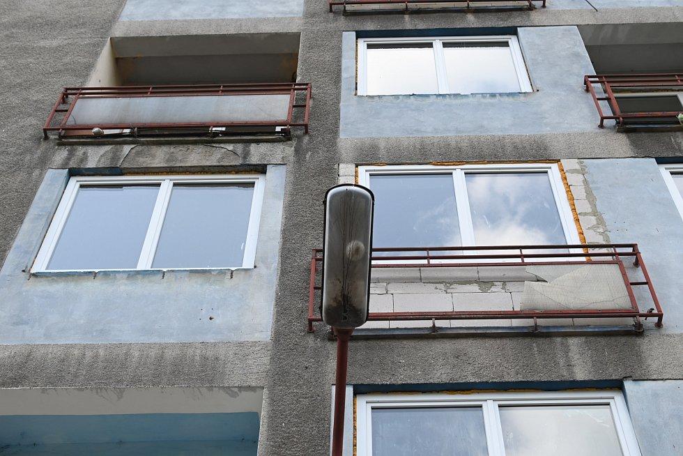 Ubytovna ve střekovské Purkyňově ulici.