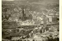 Bombardování Ústí během druhé světové války.