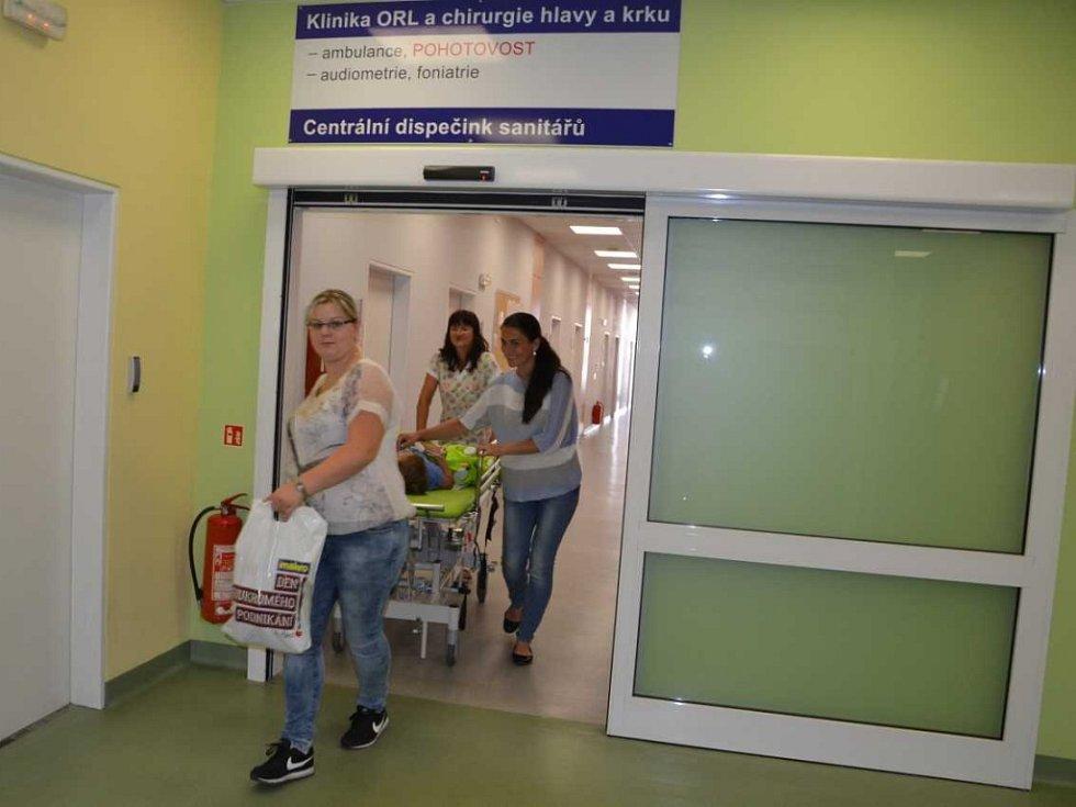 Klinika ORL a chirurgie krku a hlavy v Masarykově nemocnici.
