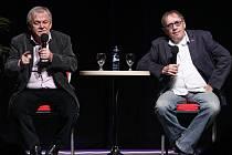Karel Šíp a Josef Náhlovský v pořadu Minipárty.