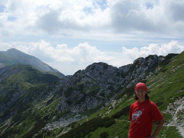 Zčervencového výstupu na vrchol Vogel (1922m n. m.) vJulských Alpách ve Slovinsku poslala fotku Martina Drašarová zHorní Proseče uJablonce nad Nisou.