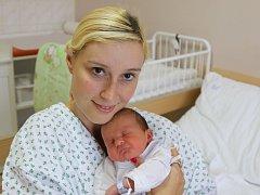 Jakub Felix se narodil Kláře Nikodýmové z Dubí 13. října v 18.12 hod. Měřil 50 cm, vážil 3,5 kg