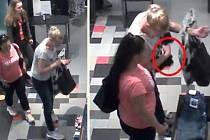 Ústečtí policisté pátrají po třech ženách v souvislosti s krádeží v obchodě s oblečením