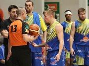 Ústečtí basketbalisté v NBL.