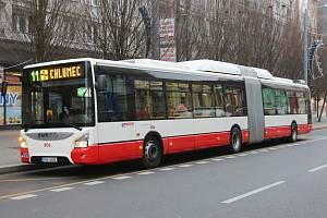 MHD v Ústí nad Labem.