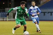 Fotbalový zápas mezi Ústím a Vlašimí