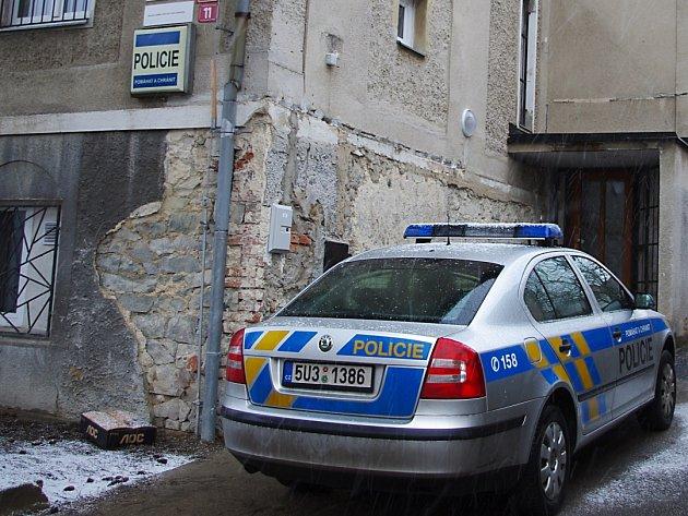Zrekonstruované oddělení policie Všebořice.