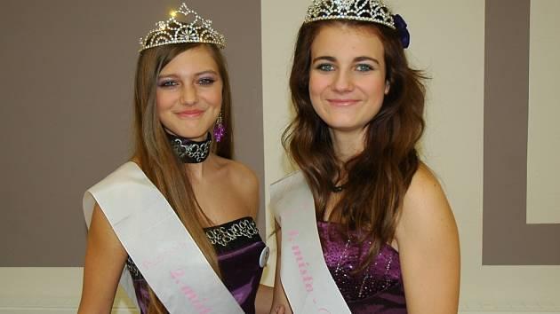 Nikola Vosyková (vlevo) a Zuzana Jusifovičová se už soutěže zúčastnily.