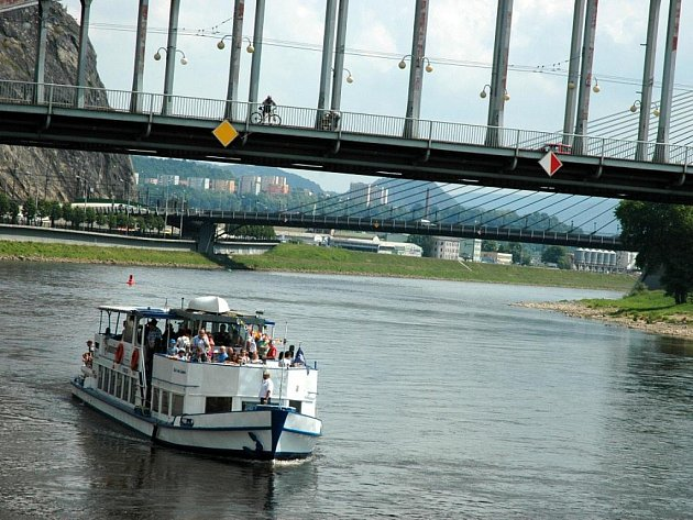 Ústeckou loď využilo mnoho lidí