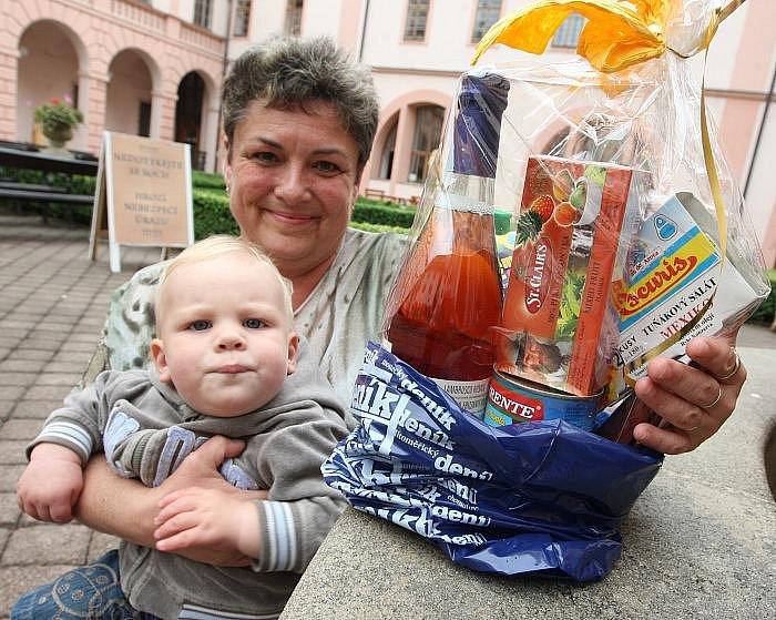 Hana Zajková z Chomutova vyhrála první místo s fotografií ze své zahrady ve Stroupeči na Žatecku.