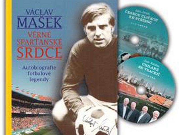 Kniha Václav Mašek – Věrné sparťanské srdce (2výherci).
