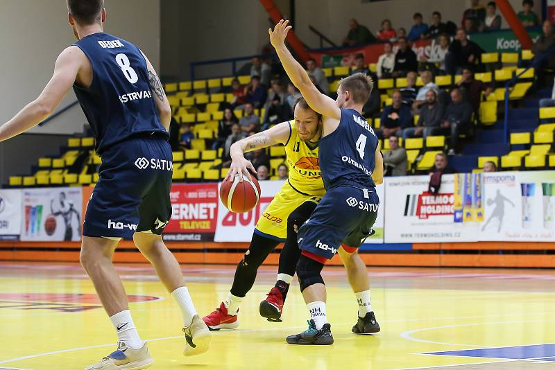 Sluneta Ústí nad Labem - NH Ostrava, KNBL 2021/2022.