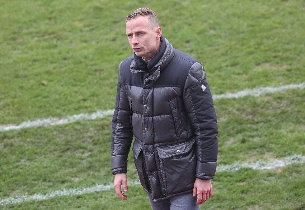 Trenér Jiří Jarošík.