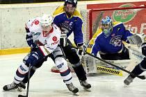Kapitán Slovanu Martin Vágner byl ve čtvrtém utkání s Chomutovem jediným střelcem Ústí.