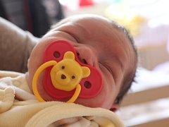 Samuel Horváth se narodil v ústecké porodnici 21.2.2015 (3.41) mamince Ivaně Horváthové. Měřil 50 cm, vážil 3,50 kg.