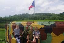 Vojenský řopík ve Valtířově opět ožil.