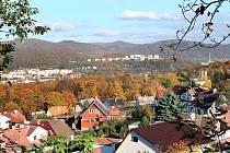 Ilustrační snímek. Pohled přes horní Střekov na Krásné Březno.