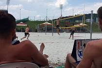Beach volejbal pomohl.