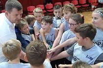 Basketbalisté ZŠ Mírová Ústí nad Labem v juniorské NBA.