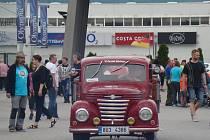 Dvoutakty z bývalé NDR brázdily o víkendu Ústecko a Teplicko.