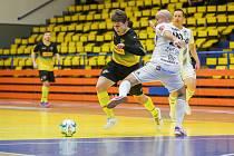 Rapid Ústí n. L. - České Budějovice, 1. FUTSAL liga 2020/2021. Matěj Čapek, hrající předseda Rapid Ústí nad Labem