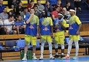 Basketbalové utkání Ústím nad Labem a Pardubice.