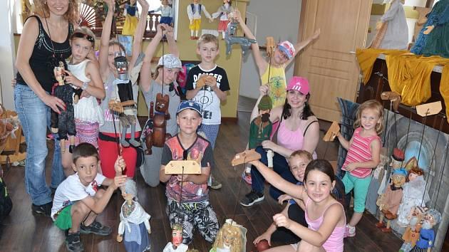 V Litoměřicích si táborníci užili den v pohádkové věži.