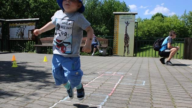 Dětský den v ústecké zoo.