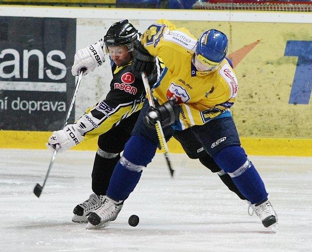 Ústečtí hokejisté doma nestačili na Kadaň a prohráli 1:4.