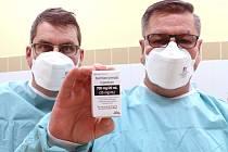 Lék bamlanivimab podali v kraji poprvé v ústecké nemocnici.