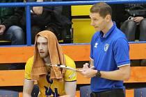 Ústecký trenér Jakub Salon.