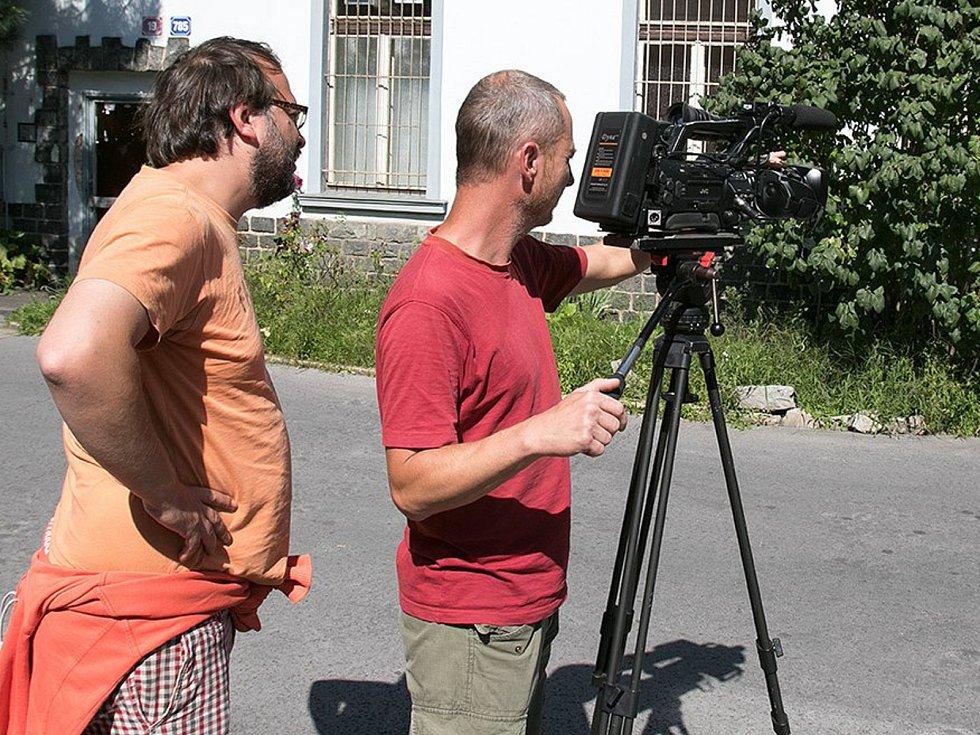 Fotografie k filmu Ještě chvíli, prosím! (2016) Archiv Miroslava Rosendorfa