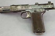 Ilustrační foto. Pistole Steyr.