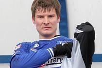 POSILA. Novou tváří v dresu Army je Pavel Dreksa z Olomouce.