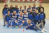 Fotbalistky FK Ústí nad Labem v zimě 2019 na turnaji Arma woman winter cup. Foto: FK Ústí/Milan Seidl