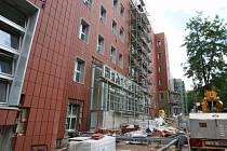 Práce v budově B v areálu budoucího Kampusu se chýlí ke konci.