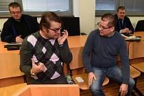 Pavel Markvart a Petr Kušnierz u ústeckého soudu.